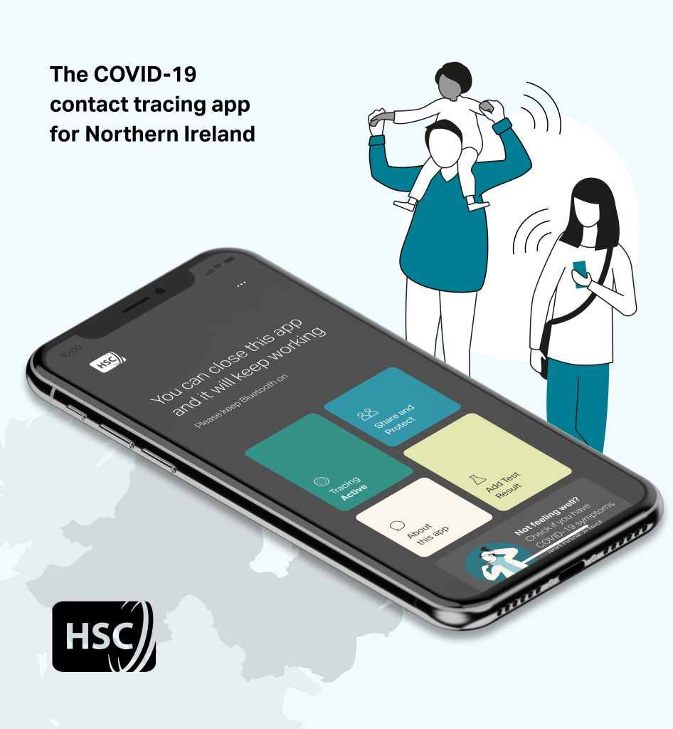 Stopcovid Ni Mobile App Covid 19 Coronavirus Northern Ireland